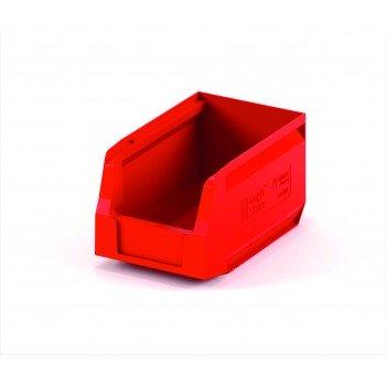 Складской лоток 250х150х130 мм красный