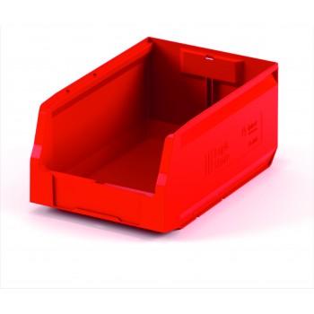 Складской лоток 300х225х150 мм красный