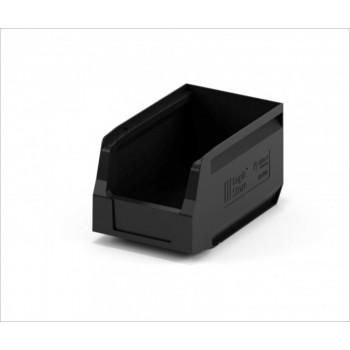 Складской лоток 250х150х130 мм чёрный