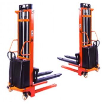 Штабелер гидравлический с электроподъемом PEMS10 TOR (г/п 1000 кг, в/п 1.6 м)