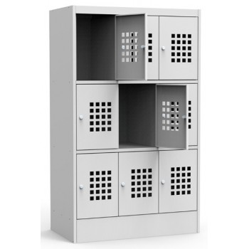 Металлический шкаф для сумок ШМС 33-30