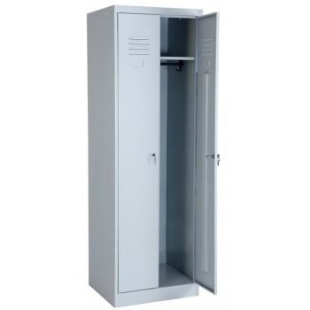 Металлический шкаф для одежды ШРК 22-600