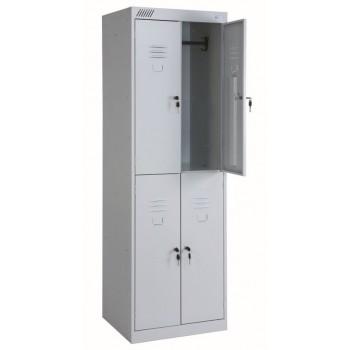 Металлический шкаф для одежды ШРК 24-600
