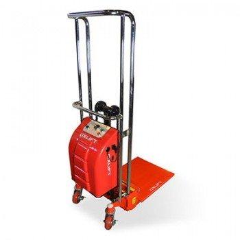 Штабелер с электроподъемом SES4013 Mini OXLIFT (г/п 400 кг, в/п 1.3 м)